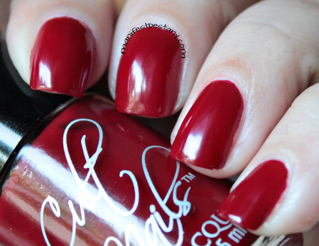 Cult Nails Reds - Kiss and Quench!   Confessions of a Sarcastic Mom