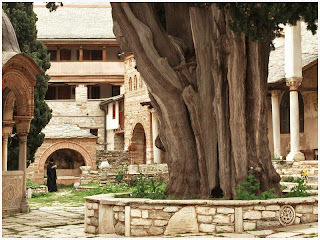 Sveta Gora. Manastir Velika Lavra.