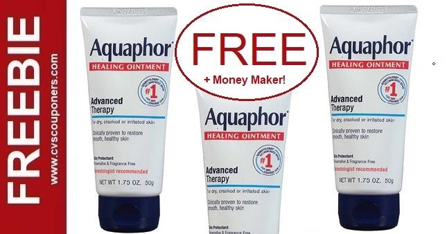FREE Aquaphor Healing Ointment CVS Deals 1-17-1-23