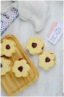 galletas danesas de mantequilla caseras - pastas o galletas de mantequilla caseras- galletas de mantequilla rellenas de mermelada