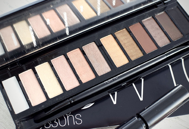 SLA #HowTo Lidschatten Palette, Review und Swatches