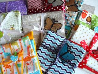 Bavlnené látky v darčekovom balení