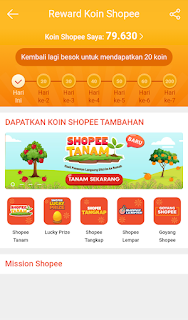 Cara Goyang Shopee Biar Dapat Koin Banyak Termudah