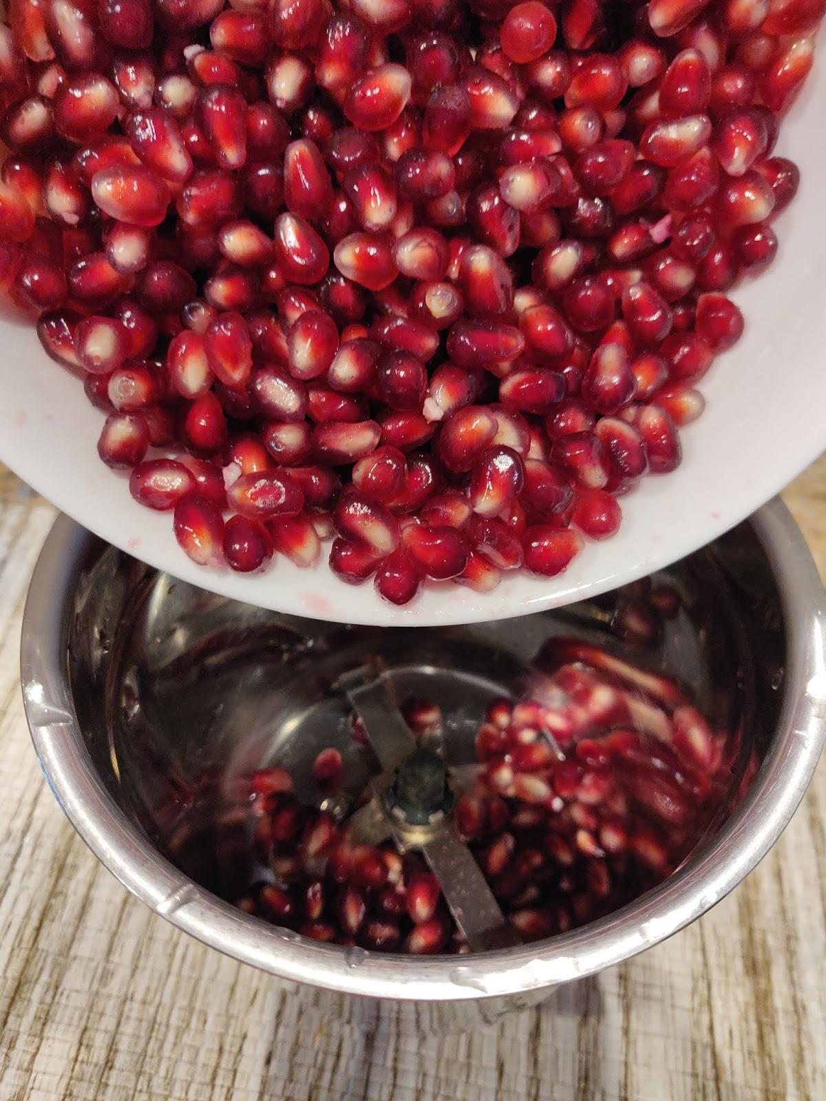 Homemade Pomegranate juice | Indian pomegranate juice recipe