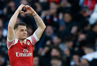 Granit xhaka may leave arsenal