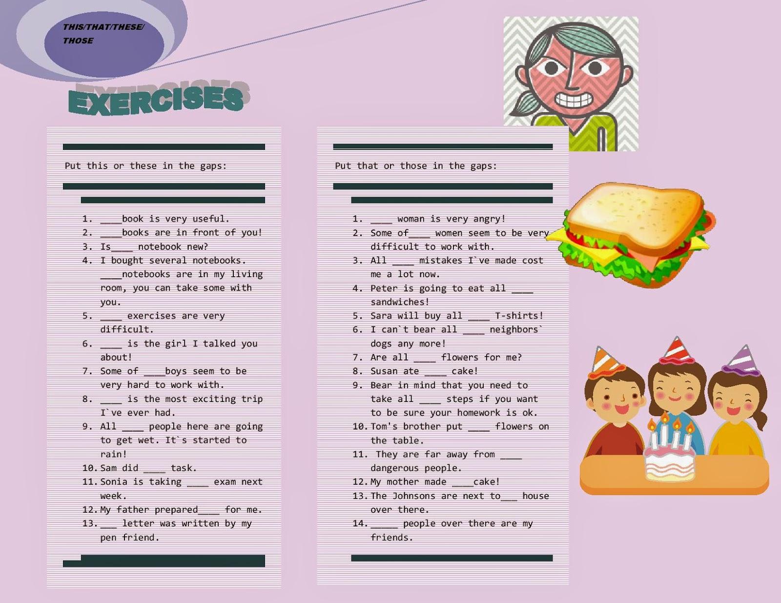 English Grammar Demonstrative Pronouns