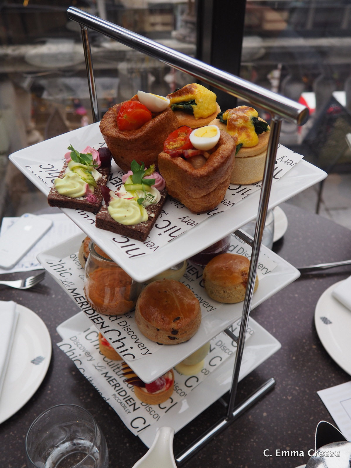 The Luxury Brunch Afternoon Tea at Le Meridien Hotel (warning: this is not a typo)