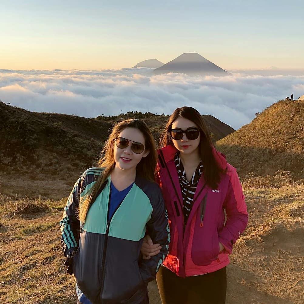 wisata camping puncak gunung prau