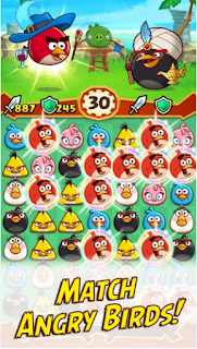 Angry Birds Puzzle Fight