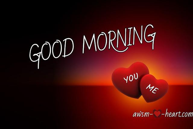 Good morning love photo