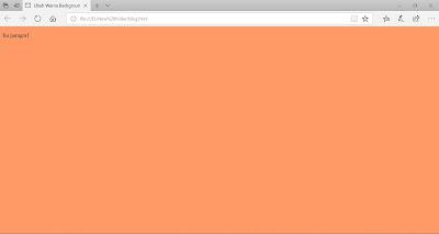 Cara Merubah Warna Tampilan Atau Background Pada HTML - MUL CODE