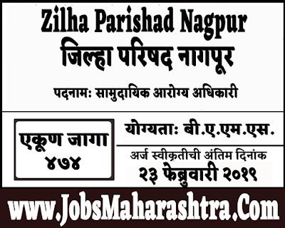 ZP Nagpur Recruitment 2019