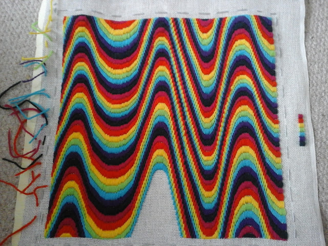Tina's Allsorts, Bargello Wave
