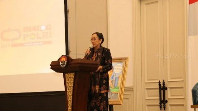 Sukmawati pidato bandingkan Nabi Muhammad dengan Soekarno