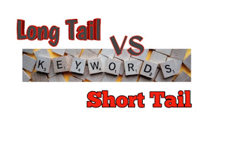 Long tail vs short tail keywords