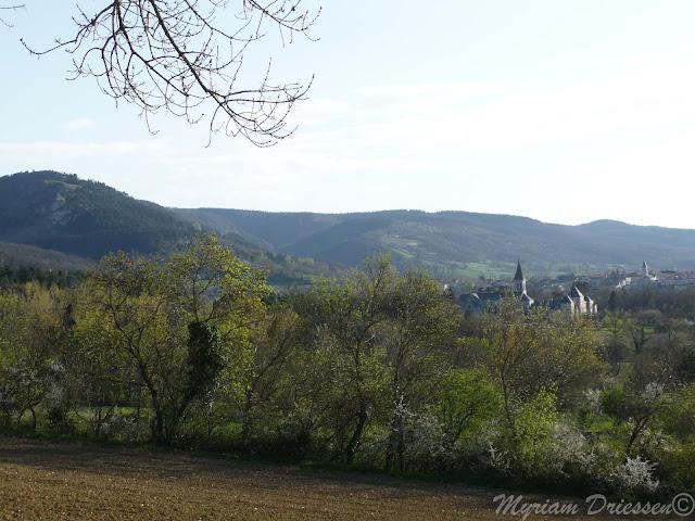 village de Dourgne Montagne Noire Tarn