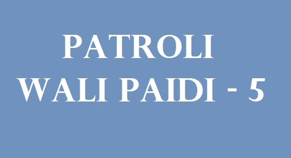 kisah patroli wali paidi m abdullah badri edisi 5