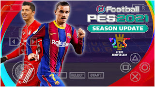 Download PES 2021 PPSSPP Android Offline Chelito V2 Best Real Graphic Fix Update Jersey & Last Transfer