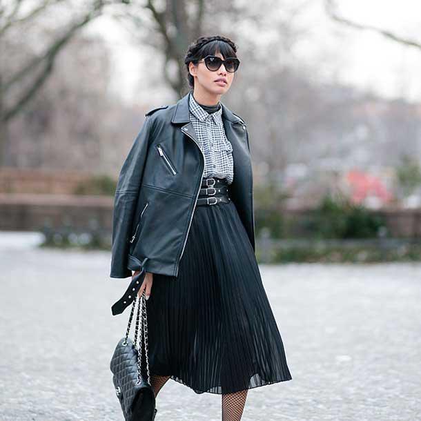 Plissee-Rock - Diesen Rock tragen 2017 alle Fashionistas
