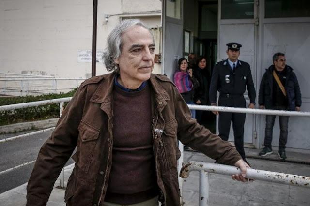 Τρίτο «όχι» των δικαστών Βόλου για άδεια στον Κουφοντίνα