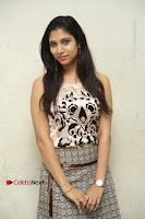 Actress Vanditha Stills in Short Dress at Kesava Movie Success Meet .COM 0092.JPG