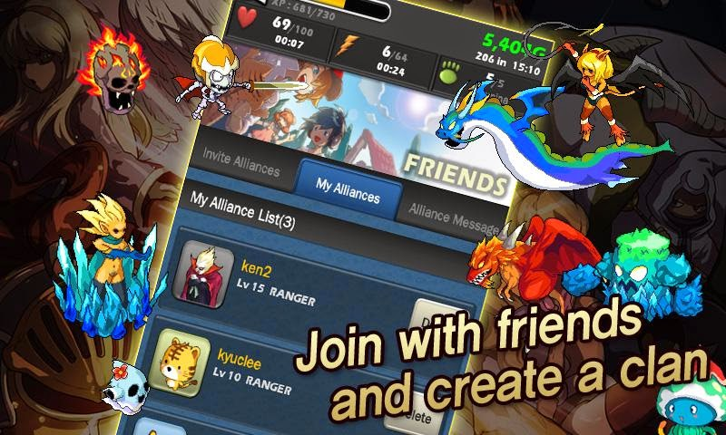 download game monster warlord mod apk