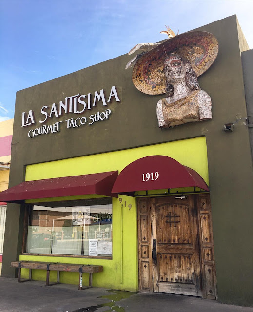 Fresh, light and delicious! One of the best taco restaurants in the Phoenix, Arizona area! A new favorite place to get your Mexican food fix! La Santisima Gourmet Taco Shop in Phoenix, Arizona