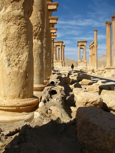 Ancient Palmyra—a story of urban resilience
