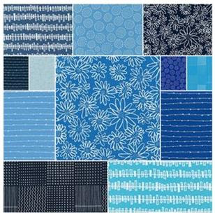 Karen Lewis' Blueberry Park fabric