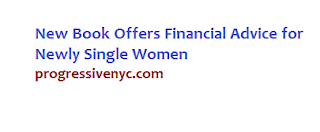 new book financial advice for newly women