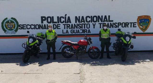 hoyennoticia.com, Incautan Rumba y moto venezolana en Maicao