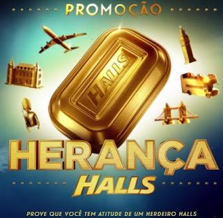 Promoção Halls 2017 Herança Halls Viagem Londres