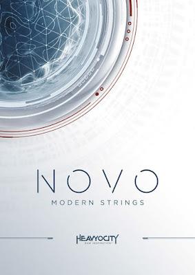 Cover da Library Heavyocity - NOVO Modern Strings (KONTAKT)