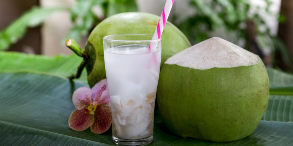 Kelapa - es kelapa