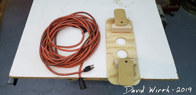 how to organize your extension cords