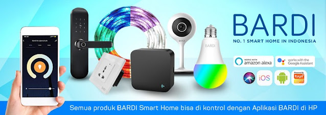 Produk Bardi Smart Home