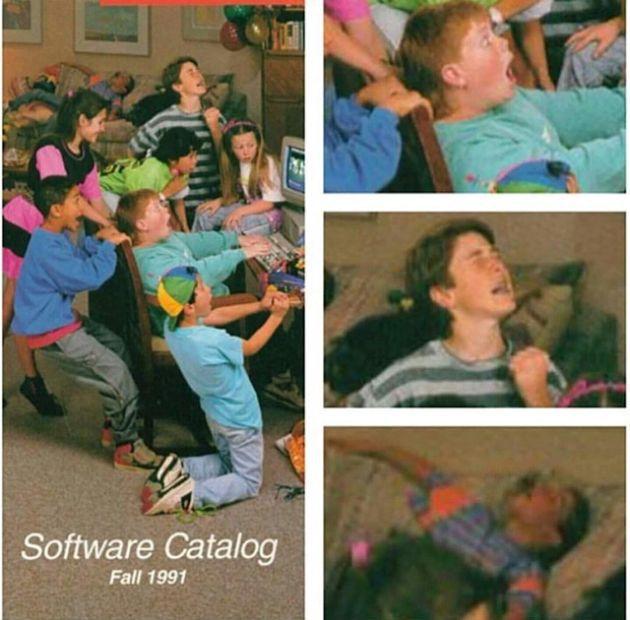 O êxtase dos anos 90