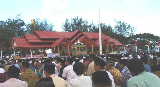 Lapangan Pemuda Jadi Pusat Pelaksanaan Shalat Idul Adha 1440 H, Di Benteng Selayar
