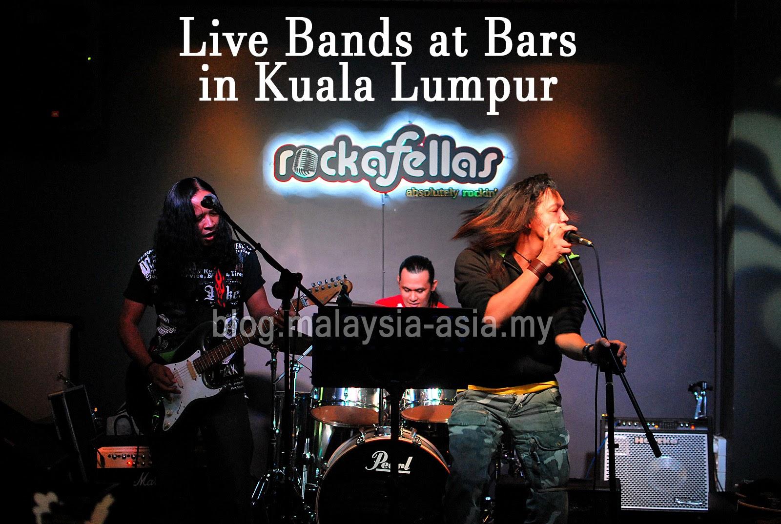 Kuala Lumpur Live Bands at Bars