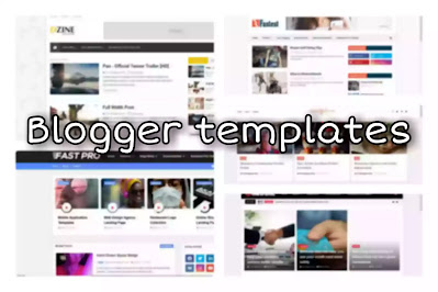 blogger templates for free