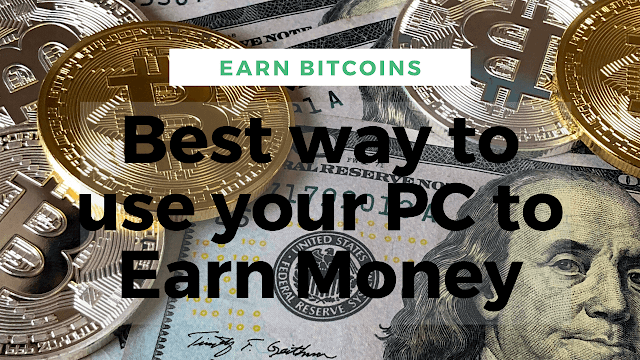 mine bitcoin on your pc