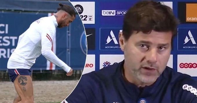 Pochettino discuss fitness update on Sergio Ramos and reveals return date