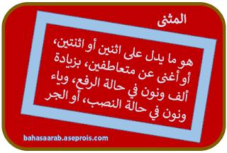 Penjelasan Isim Tatsniyah | التثنية atau al-mutsanna