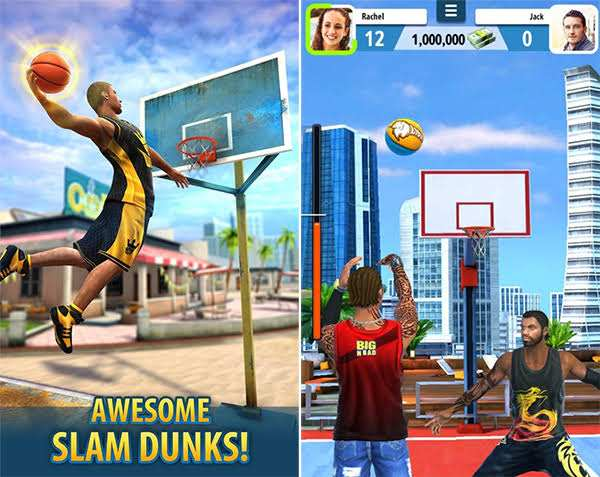 Basketball stars mod APK gameplay