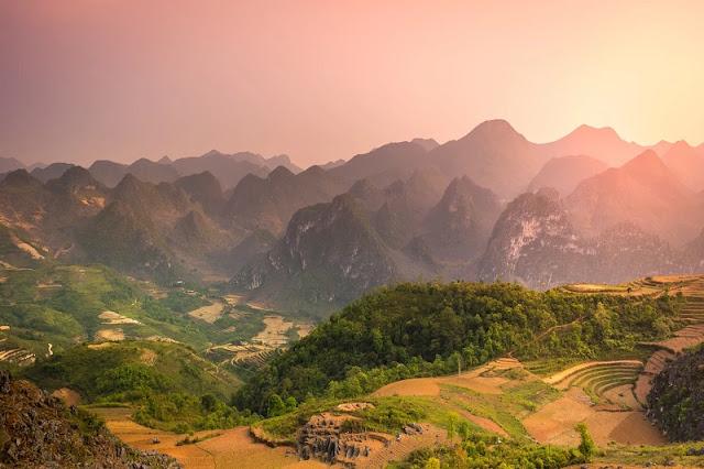Yellow Paintings in Hoang Su Phi 1