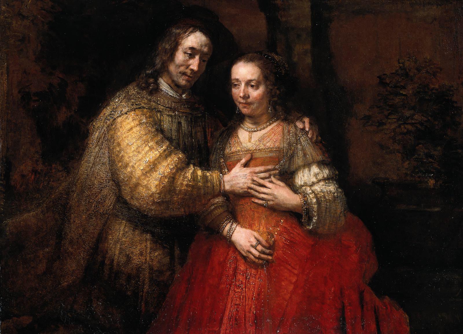 Rembrandt van Rijn: The Jewish Bride (1667)