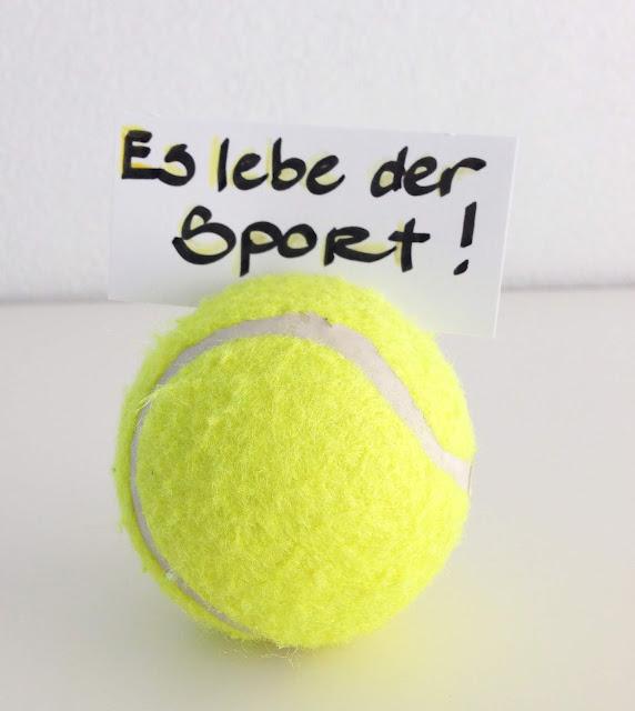 mit Strich und Faden: Gutschein Sport