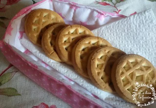cestino stoffa biscotti