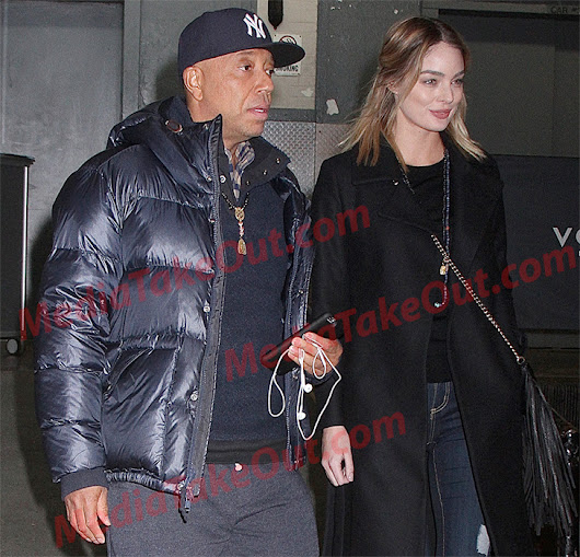 UNCLE RUSSELL SIMMONS AND NEW GIRLFRIEND...FLAVOR..VANILLA OF COURSE!