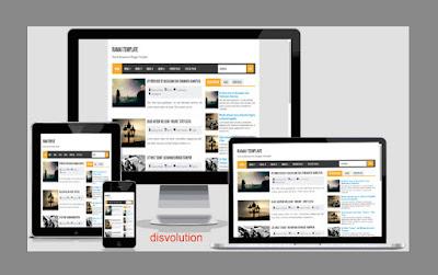 Template Ramai Blogger Seo Responsive Download Gratis Buat Kalian Semua